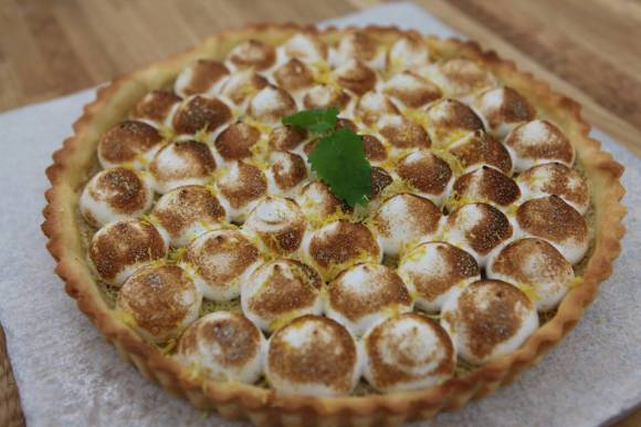 citrontærte