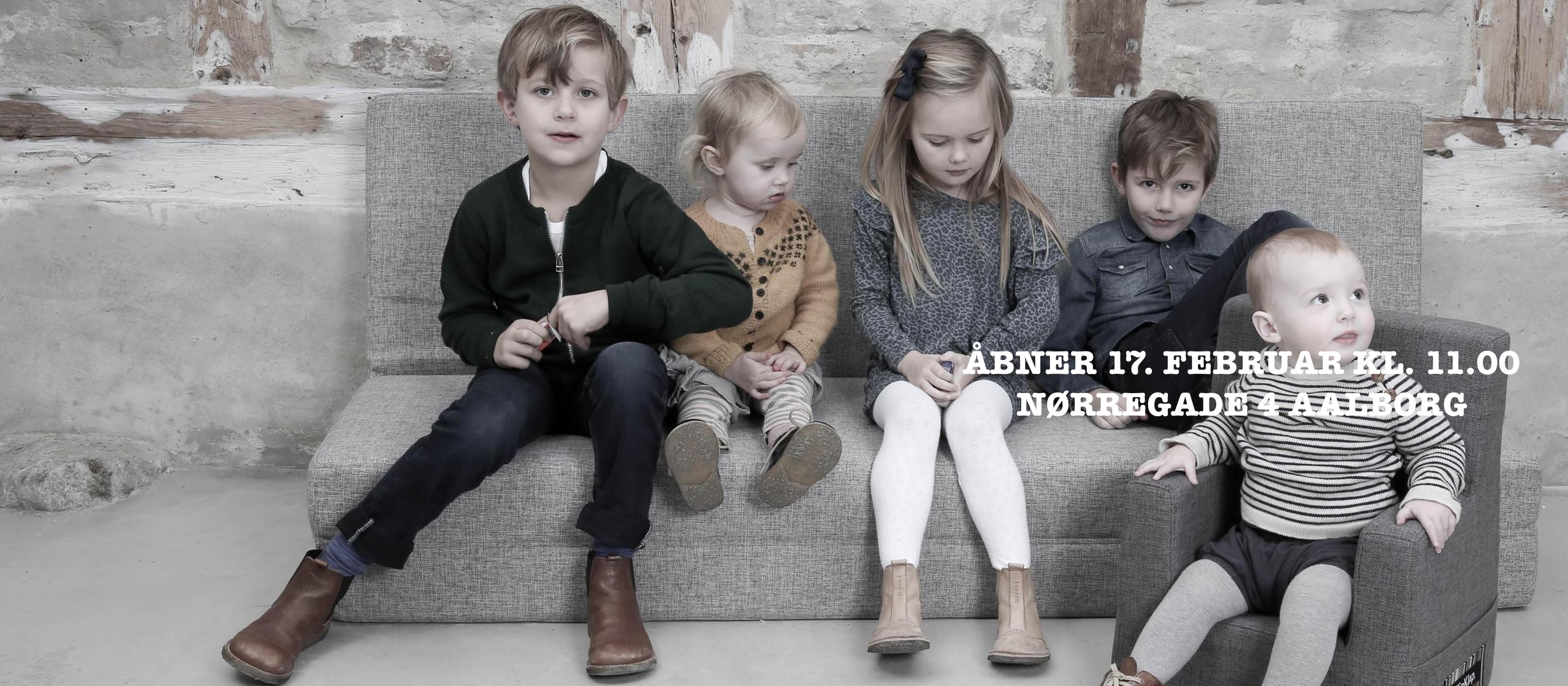 Ny børnetøjsbutik i Aalborg SKRUUK.DK